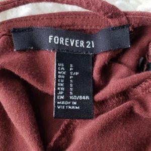 Forever 21 Dresses - Long sleeved cross back dress